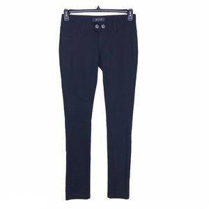 Seven7 Jeans Black Ponte Stretch Knit Skinny Pants